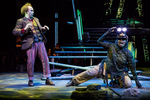 Dean Holt and Joy Dolo in 'The Hobbit'. From The Hobbit Onstage: A Magical World Premiere at Children's Theatre Company