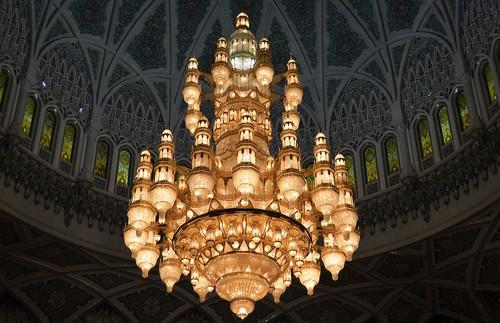 Sultanato de Omán - Muscat - Gran Mezquita del Sultan Quaboos