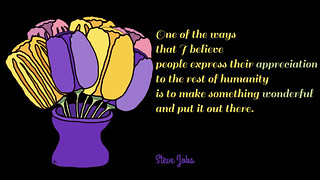 jobs quote tulips.001 | by teach.eagle