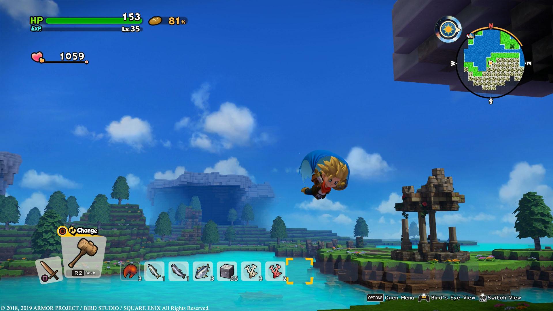 Dragon Quest Builders 2 Mantel