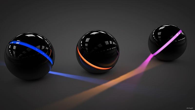 Обои шары, свет, стекло, неон картинки на рабочий стол, фото скачать бесплатно