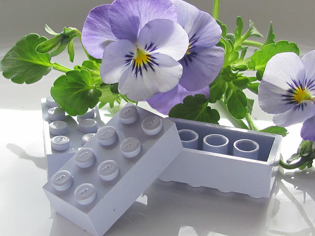 Lego Bayer 8xf - Light Violet