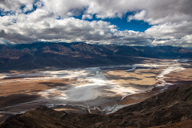 Dante's View Death Valley Breaking Spring Storm Clouds! Death Valley National Park Fine Art Landscape & Nature Photography! High Res Panorama Nikon D850 & AF-S NIKKOR 28-300mm f/3.5-5.6G ED VR from Nikon! Elliot McGucken Fine Art!