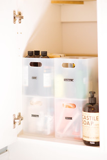How To Organize Under Bathroom Sink | by Get Kamfortable