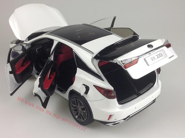 1 18 mo hinh tinh Paudi Dealer Lexus RX200T qua tang sang trong y nghia dan ong ha noi viet nam diecast 118 (17)