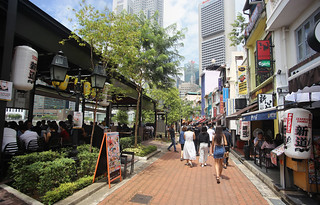 Boat Quay serves as one of the most popular places in Singapore   by B℮n