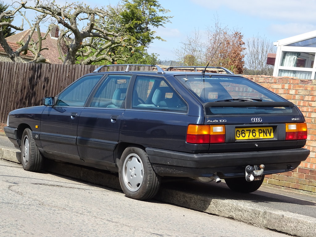 1990 Audi 100 Avant 2.3 SE Auto | Northamptonshire registere… | Flickr