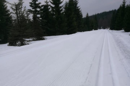 Stále skvělé lyžařské podmínky na Jizerce