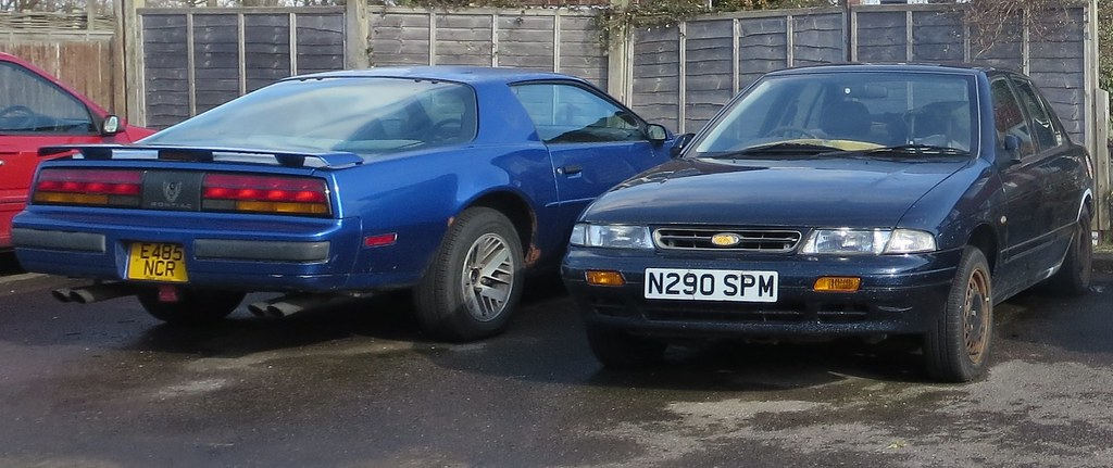 Kia Of Mentor >> 1987 Pontiac Firebird 1995 Kia Mentor Glx Auto Seen In E