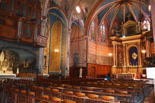 Iglesia San Mateo. Francia . Perpiñan-5