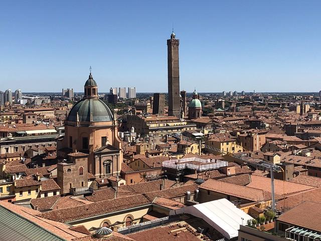 View of Bologna from the Terrazza di San Petronio