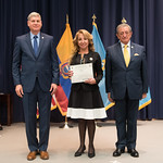 Fri, 03/29/2019 - 14:43 - On Friday, March 29, 2019, the William J. Perry Center for Hemispheric Defense Studies hosted a graduation ceremony for two courses: 'Strategic Implications of Human Rights and Rule of Law' and 'Combating Transnational Threat Networks.' Students from all over the Americas attended the courses from March 18-29, 2019. The graduation ceremony and reception took place in Lincoln Hall at the National Defense University's North Campus at Fort McNair in Washington, DC.
