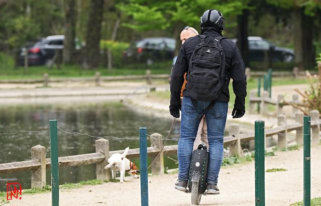 Coup de gueule : Engins roulants, c'est la loi de la jungle sur les trottoirs avec les piétons....et les chiens