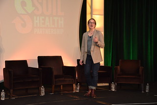 Maria Speaking | by soilhealth