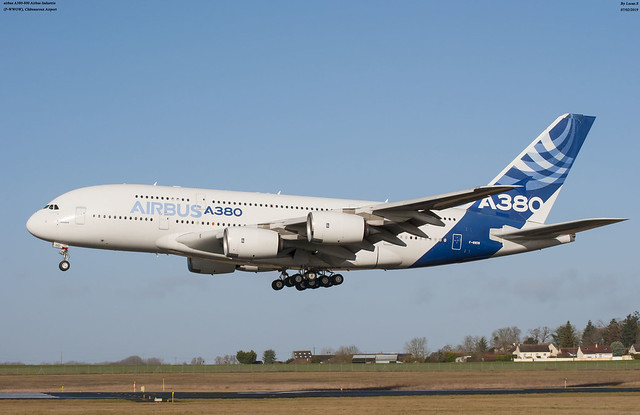 airbus A380-800 Airbus Industrie  F-WWOW