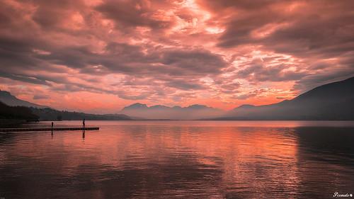 france paysage lacbourget savoie sunset coucherdesoleil nikond5300