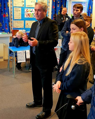 At Aberlady primary's mock elections | by Iain Gray MSP