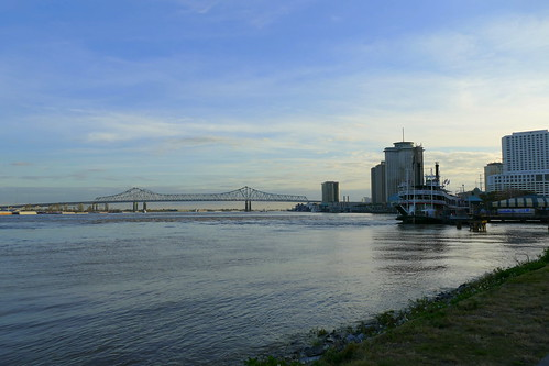 usa louisiana neworleans mississippi fluss river raddampfer paddlesteamer landschaft landscape natur nature ivlys