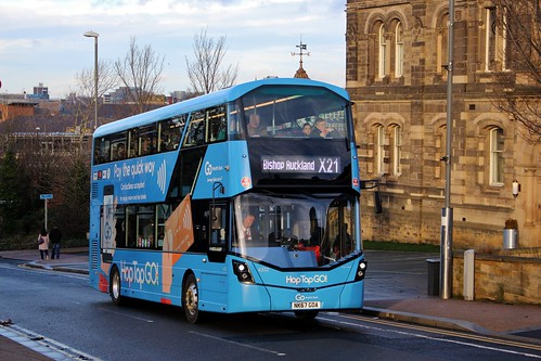 Go North East: 6332 / NK67 GOA | by Northern Transport Photos