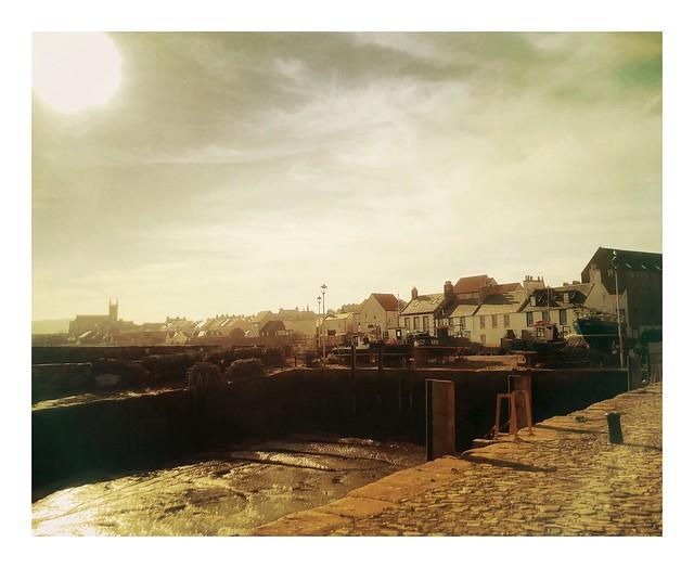 The Old Harbour, Dunbar, Lothian