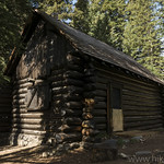 Patrol Cabin in Death Canyon