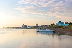 Tomsk city waterfront
