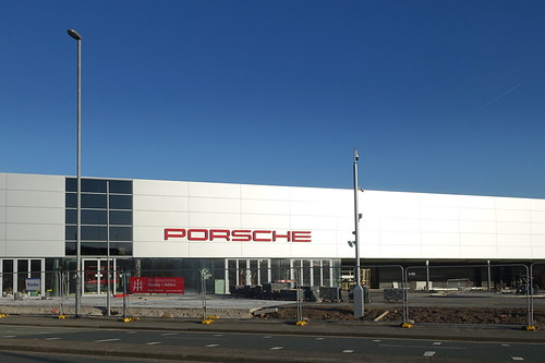 New Porsche centre in Preston almost open | by Tony Worrall