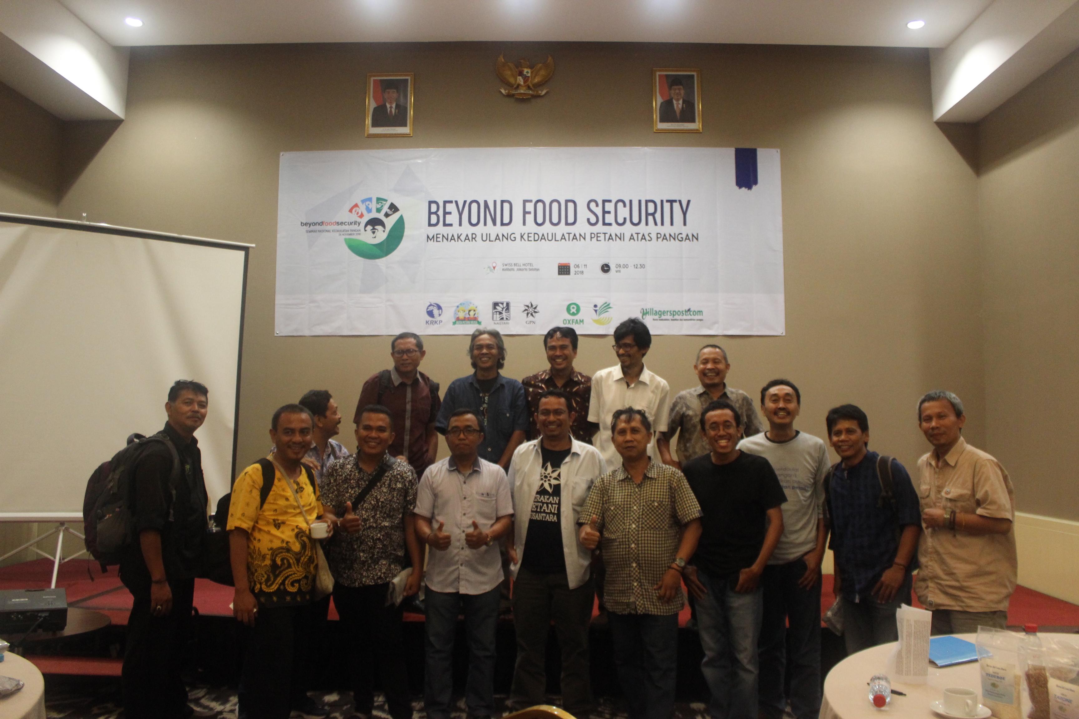Food Beyond Security