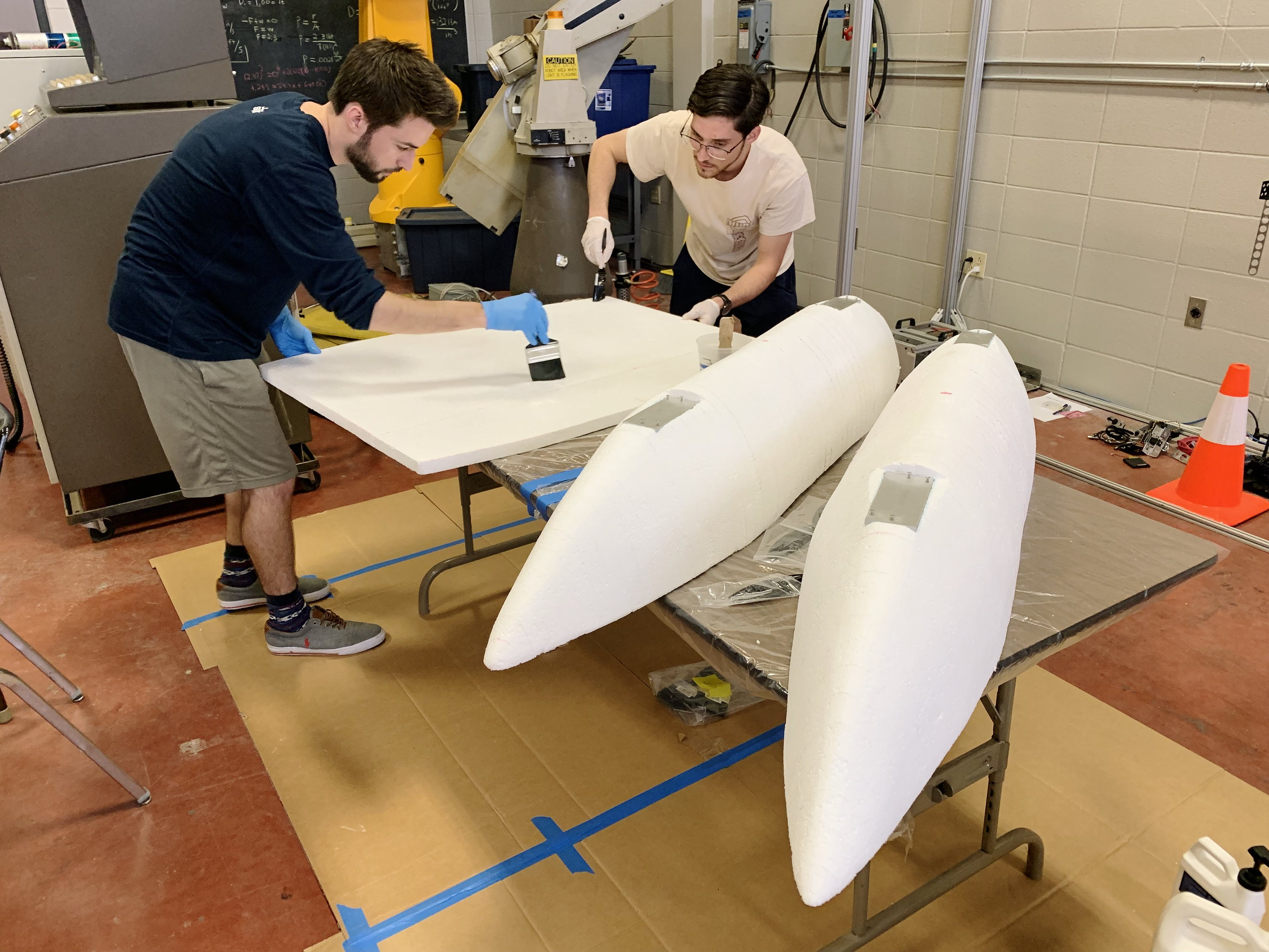 RoboBoat Hull Fabrication