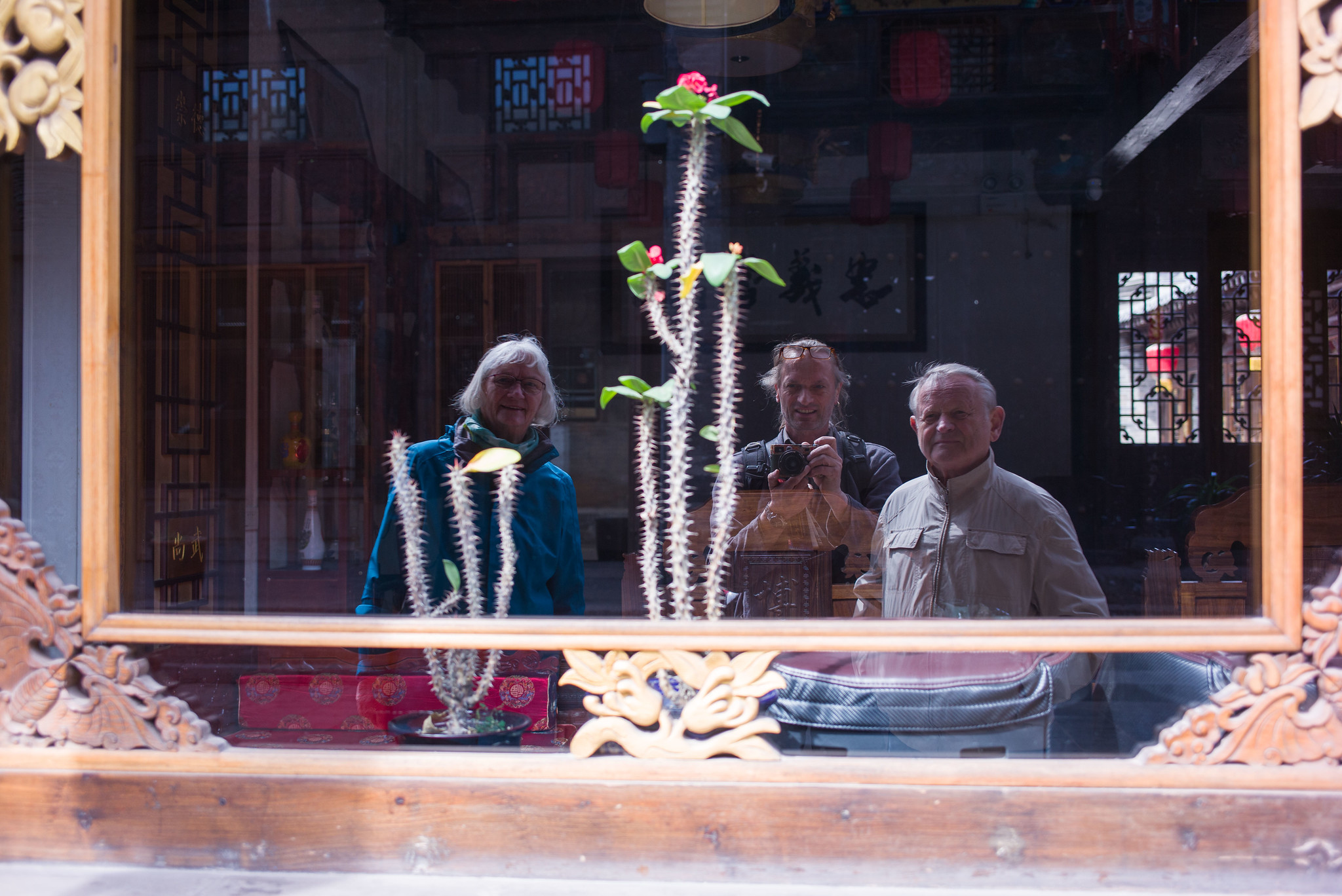 Utechts in Pingyao