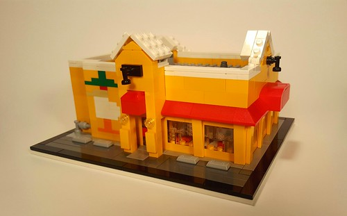 Mags99 Mexican Cantina. In Squamish B.C  Microscale edition.