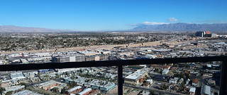 View from a high-rise condo on the Las Vegas Strip | by Parkzer