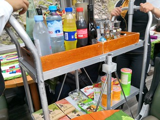 Drinks and snacks trolley | by A. Wee