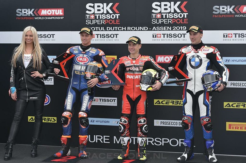 WorldSBK pole top 3