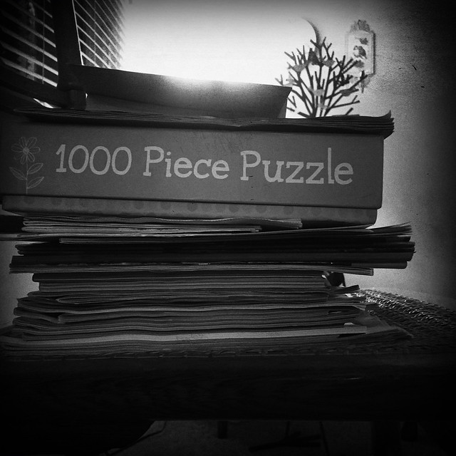 2019 - Day 41:  to-do pile (in explore)