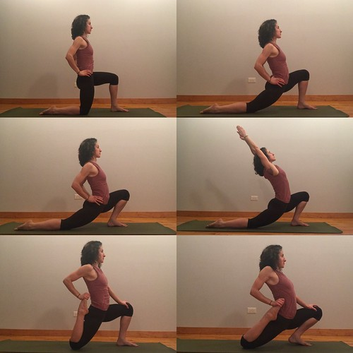 lunge and quad stretch progression | by sara strother