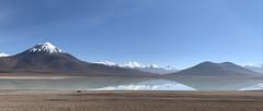 The White Lagoon (Laguna Blanca), Bolivian Highlands (Altiplano Boliviano), Sur Lípez, Potosí, Bolivia.