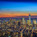 Sunset from Empire State by aurlien.leroch