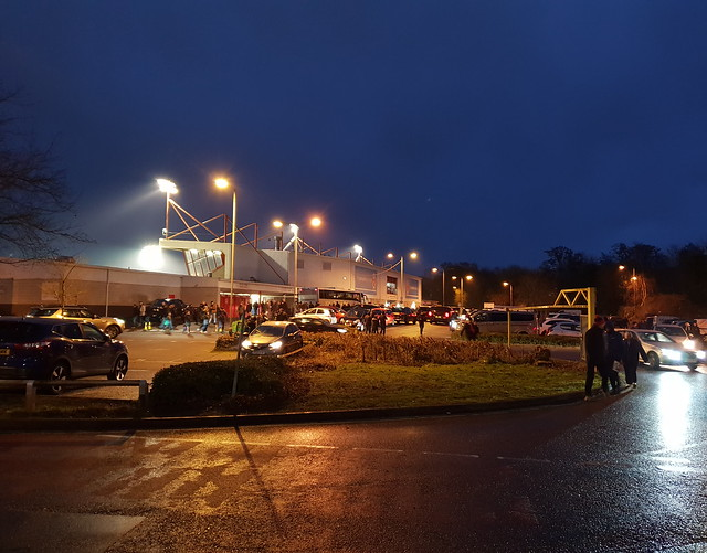 Crawley Town v Port Vale