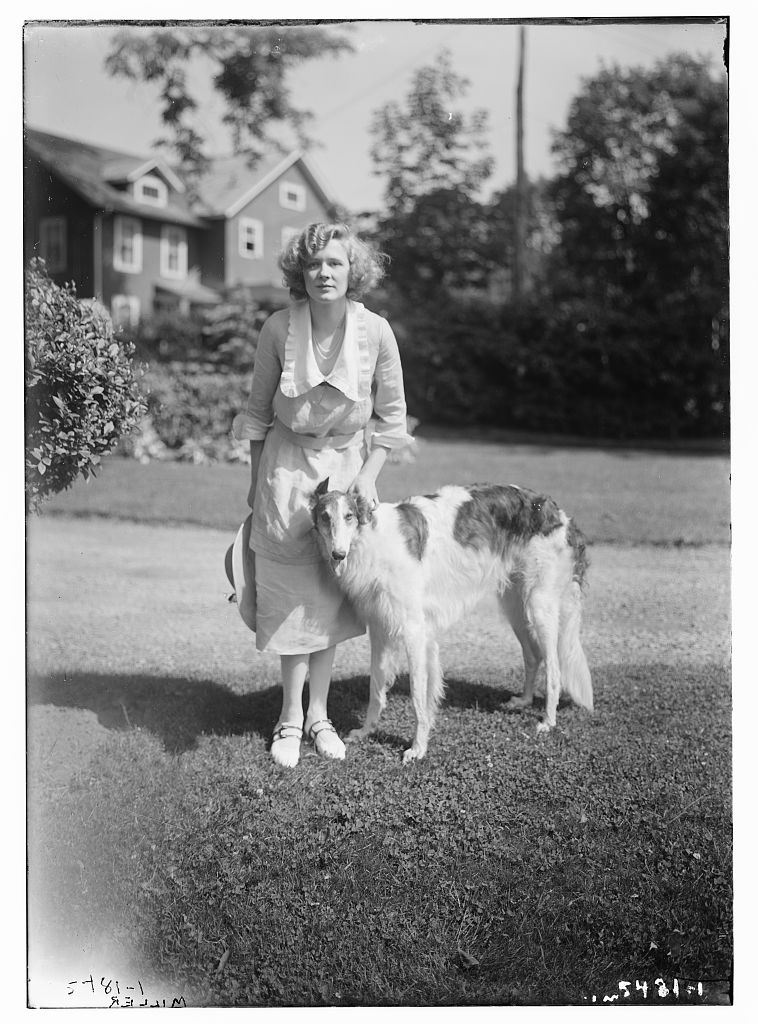 Miller [with dog] (LOC)
