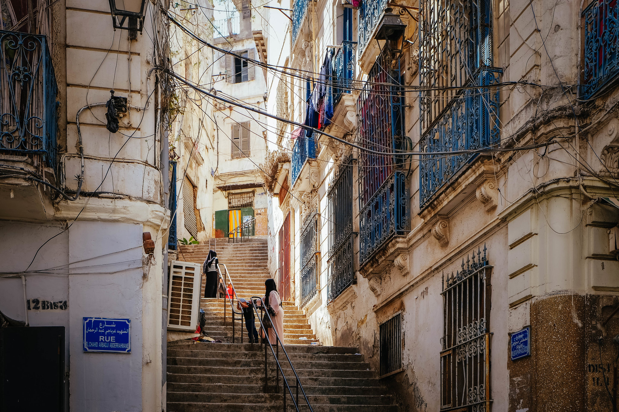 Streets of the Casbah, Algiers