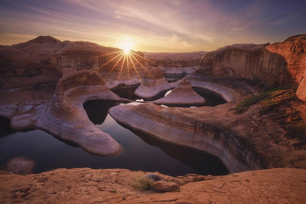Reflection Canyon Sunrise