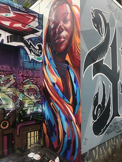 Clarion Alley mural | by MrEricSir