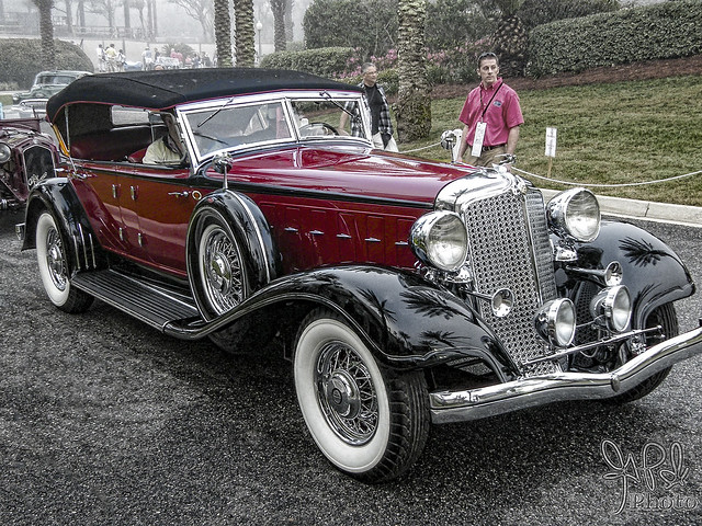 1933 Chrysler Imperial CL at Amelia Island 2009