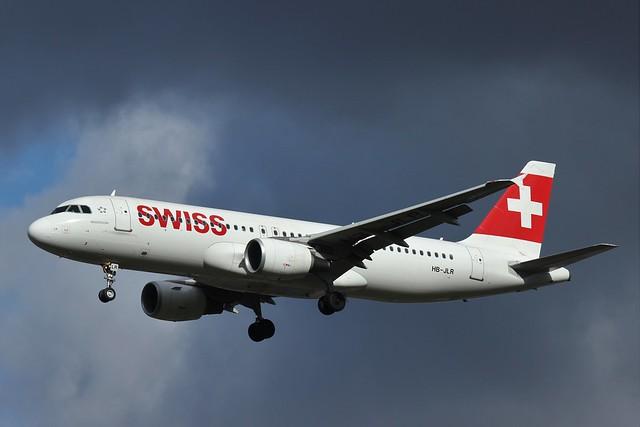 Swiss Airbus A320 HB-JLR