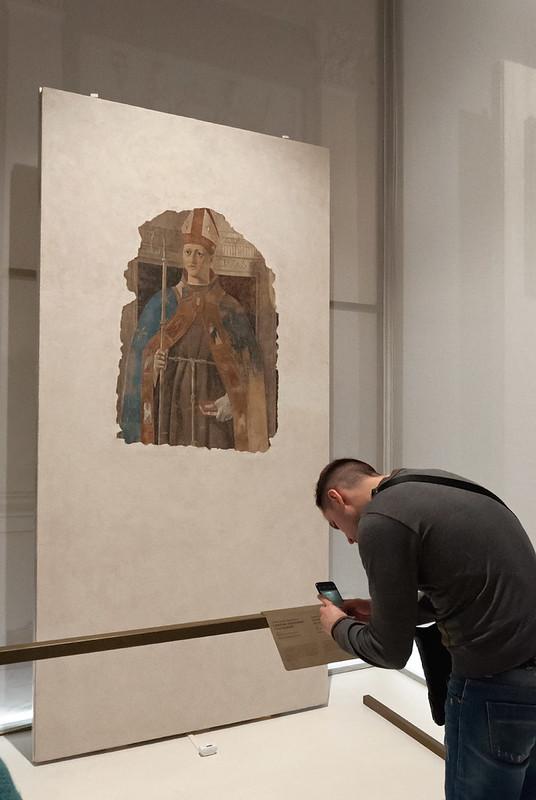 Святой Людовик Тулузский. 1460. Фреска, переведенная на дерево. Городской музей Сан Сеполькро