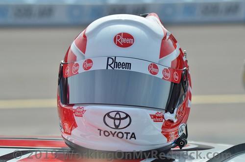 Christopher Bell's Helmet