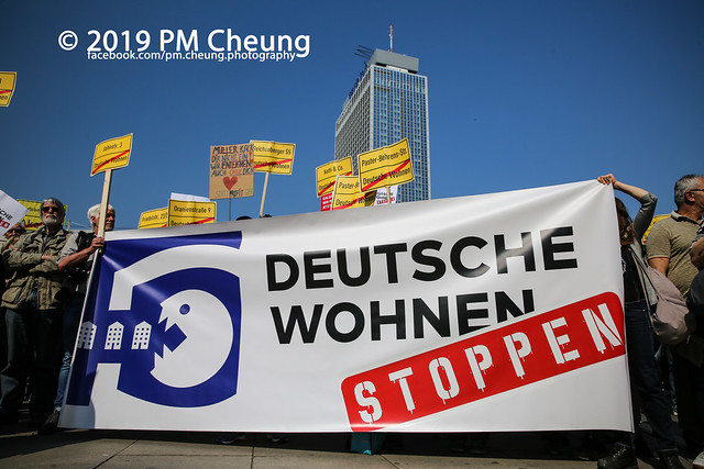 Demonstration: Gemeinsam gegen Verdrängung und Mietenwahnsinn – 06.04.2019 – Berlin - IMG_6346