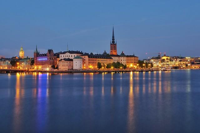 Stockholm Nightscape