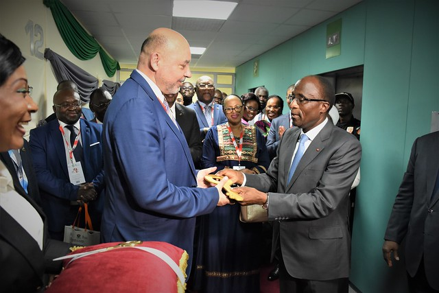Opening of the AFI regional office, Abidjan, Cote d'Ivoire